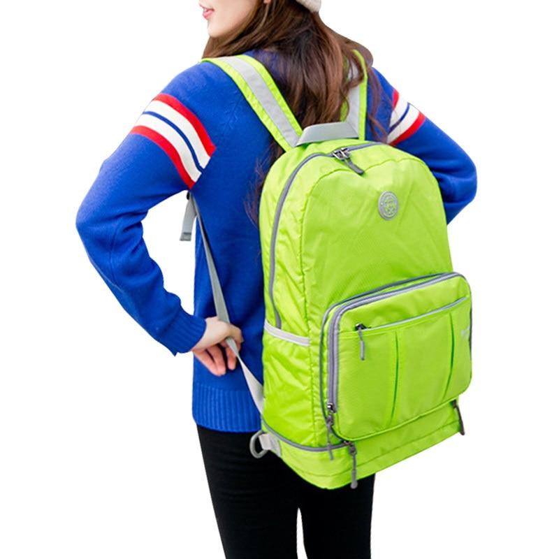 2015 Men's And Women's Folding Bag Leisure Travel Backpack school bags backpack backpack cпальный мешок tramp night life