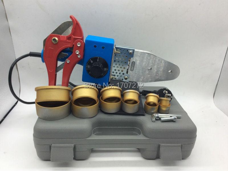 free shipping the plastic welding equipment temperature controled PPR welding Machine plastic welder AC 220V 800W