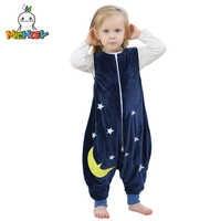 MICHLEY Baby Bag Sleeper Autumn Winter Children Jumpsuit Flannel Baby Animal Blanket Kid Pajamas One Piece Blanket Sleeper SP003