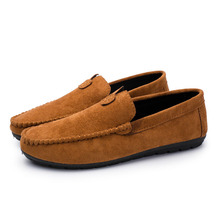 2019 New Men Casual Shoes Loafers Soft Leather Flats Driving Hot Sale Moccasins