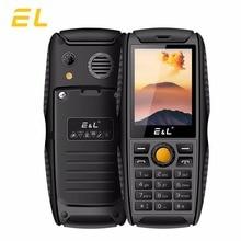Оригинальный EL S200 Мини Ключ Телефон большой светодиодный фонарик Bluetooth 2 г телефонов Dual SIM 2000 мАч IP68 Водонепроницаемый Мобильные телефоны дешевые
