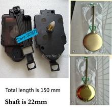 все цены на Wholesale! 20 set Swing Movement Quartz Clock Movement for Clock Mechanism Repair DIY clock parts accessories 22mm Free shipping онлайн