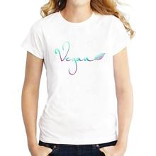 """""""Vegan"""" women's t-shirt / girlie"""