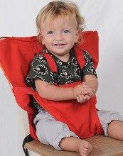 Chaise bébé Portable Infantile Siège À Manger Bébé bouffée Ceinture de Sécurité Sécurité Nourrir Chaise Haute Portable bébé chaise haute avec de protection