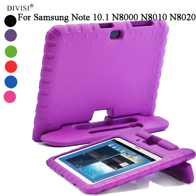 Divisi Children Safe Rugged Proof Thick Eva Foam Kids Case Handle Stand For Samsung Galaxy Note