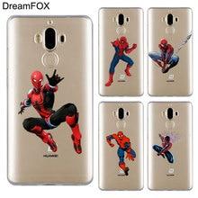 DREAMFOX M502 Handsome Spiderman Soft TPU Silicone Case Cover For Huawei Mate Nova 2 9 10 20 30 Lite Pro Plus