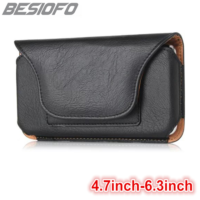 Horizontal Case Magnetic Wallet Bag With Belt Clip Waist Pouch Holster Phone Cover For Samsung Galaxy A3 A5 A6 A7 A8 A9 2018 A10