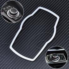 CITALL Серебряный автомобиль Acc интерьер Мультимедийные кнопки Накладка для BMW 1 3 4 5 7 серии X1 X3 X4 X5 X6 2013