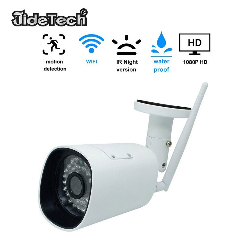 IP Camera HD 1080P Wireless WiFi Security IP Camera Outdoor Smart Home Waterproof Vandalproof CCTV Bullet Camera Surveillance