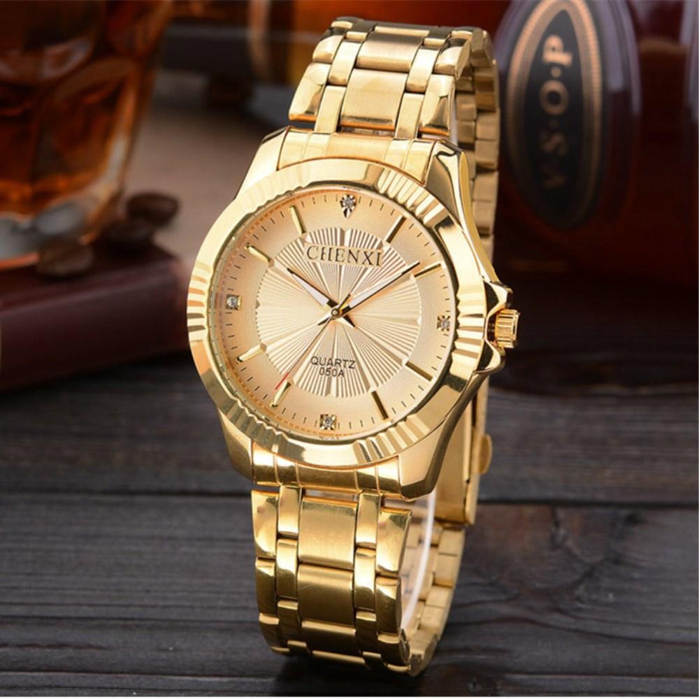 2019 Chenxi Women Watches Luxury Gold Watches Women Stainless Steel Quartz Watches Ladies Watches Reloj Hombre Relogio Masculino