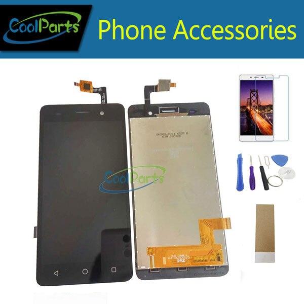 1PC/Lot For BQ BQS-5020 BQS 5020 Strike BQ 5020 BQ-5020 LCD Display Screen And Touch Digitizer Assembly Black Color With Kits