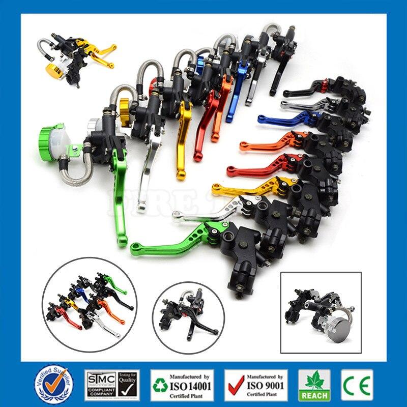 ФОТО motorcycle CNC Aluminum Adjustable brake clutch lever& brake pump  For YAMAHA SUPERTENERE/XT1200ZE 2012 2013 2014 2015 2016