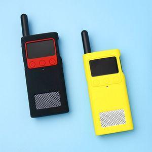Image 2 - Capa protetora caso de silicone luva da pele acessórios portáteis para xiaomi mijia inteligente walkie talkie 1 s rádio