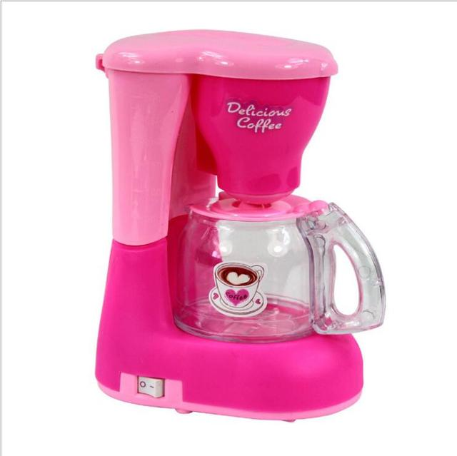 Emulational Coffee Machine Children Kids Pretend Play Toy Kitchen Toys
