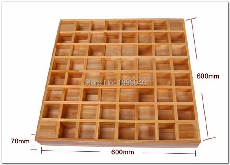Нові 2 шт. 60 * 60 * 7 см акустична панель - Домашній декор - фото 2