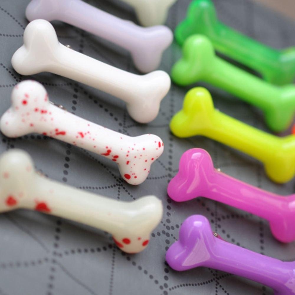 HOT Bone Shaped Hair Clips Hair Pins Mom Kids Girl Barrettes Hair Accessories Barrettes Hairpin Hair Decorations Accer