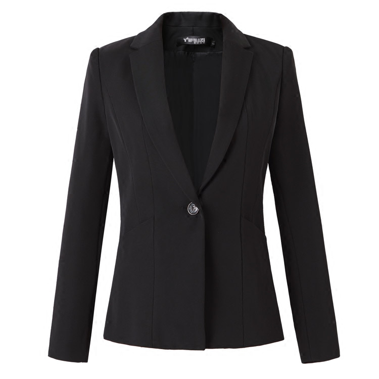 2020 Autumn and Winter Professional Women's Suit Long Sleeve Slim Small Interview Hotel Workwear Three Suits - 5