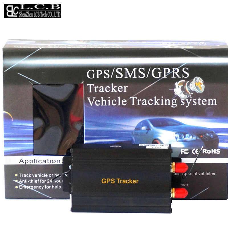 3 шт./лот TK103B Автомобильный GPS-Трекер дистанционное управление четырехдиапазонная SD-карта GPS 103 ПК и веб-система GPS-отслеживания Бесплатная доставка