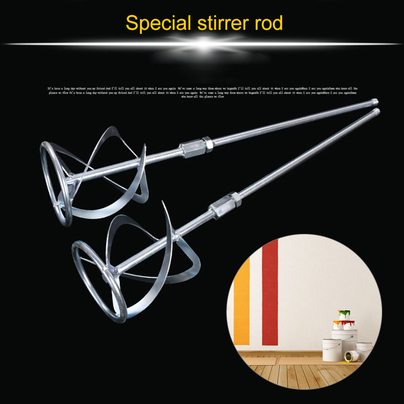 Industrial Putty Powder Mixing Rod Spiral Design Mixer For Painting Concrete TN88