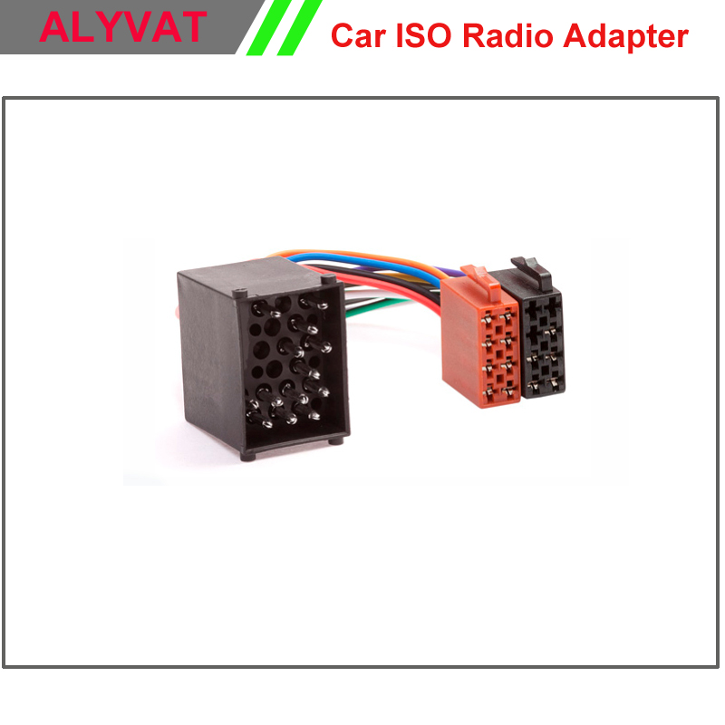 Car ISO Radio Wiring Harness For BMW E46 Land Rover Rover MINI Lead Loom Wire Cable car iso radio wiring harness for bmw e46 land rover rover mini bmw e46 aftermarket radio wiring harness at crackthecode.co