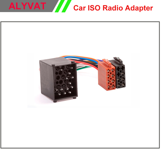 car iso radio wiring harness for bmw e46 land rover rover mini lead rh aliexpress com bmw radio wiring colors bmw radio wiring diagram e39