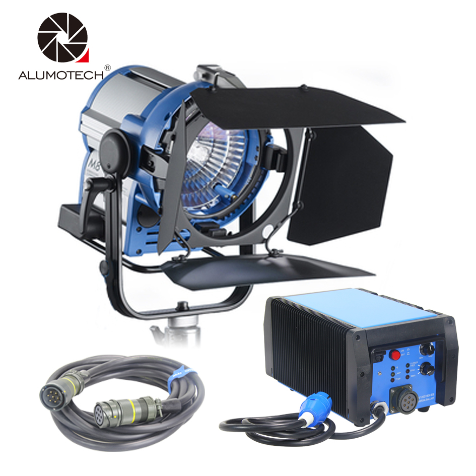 ALUMOTECH As Arri M8 800W Par HMI Light +800W&1200W Ballast+7M Cable For Film Photography Studio Video Support Equipment|Photographic Lighting| |  - title=