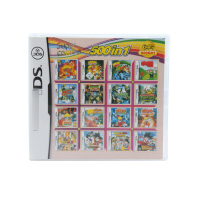 500 In 1 Compilations Video Game Cartridge Card For DS Game Console Super Combo Multi Cart