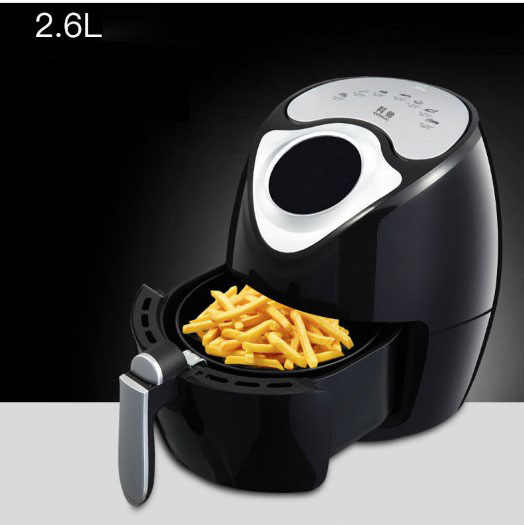 Intelligent Automatic large capacity baker household air fryer bread fish chicken  chips nuggets NO oil smoke touch screen