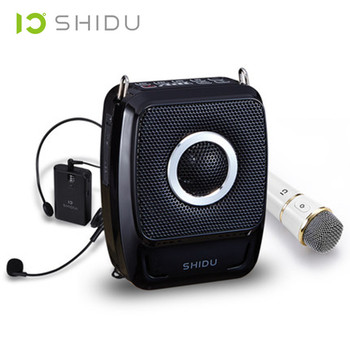 микрофон с батарейным питанием | 25 Вт высокой мощности портативный беспроводной динамик усилитель голоса UHF Ручной беспроводной микрофон Мегафон обучающий мини динамик