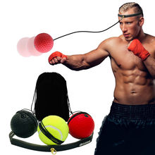 Take Boxing Reflex Speed Punch Ball MMA Sanda Boxer Raising Reaction Force Hand Eye Training Set Stress Boxing Muay Thai Exercise offer