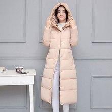 0302245b8089 С капюшоном воротник зимний женский жакет Новинка 2018 г. модное пальто Для  женщин зимние пальто