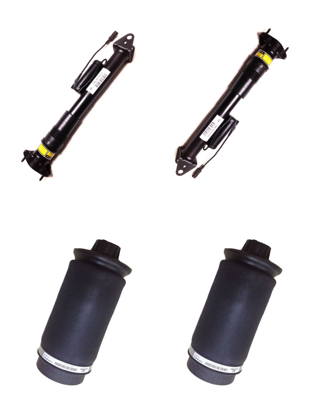Rear Air Suspension 2pcs Shock Absorber with ADS and 2pcs air spring bags for Mercedes benz GL Class X164 / Ml Class W164 autoparts for car air spring air bellow air chamber for benz w164 front shock oe 164 320 6013 164 320 6113