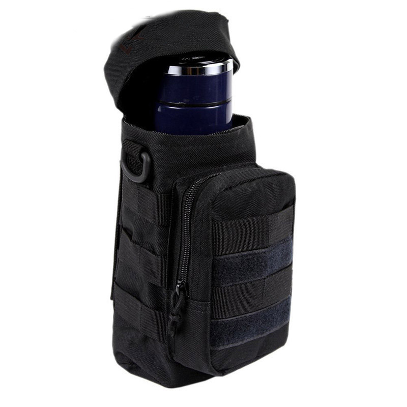 2L Molle Bottle Pouch Tactical Water Kettle Holster Bag Mili