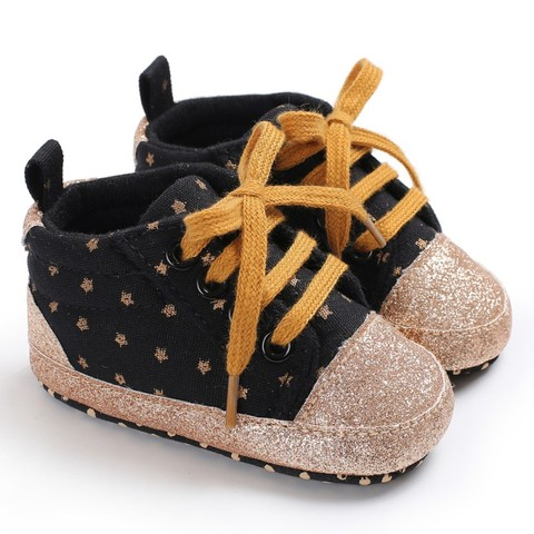 New Kids Children Shoes Baby Boys Girls Casual Shoes Anti-slip Baby Toddler Shoes First Walkers Walking Lace-Up Shoes Multan