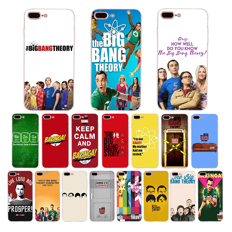 The <font><b>Big</b></font> <font><b>Bang</b></font> Theory Soft silicone <font><b>phone</b></font> <font><b>cases</b></font> for iphone cover x xr xs max <font><b>case</b></font> 7 6s 6 8 plus 5s 5 se TPU TV series Coque Funda image