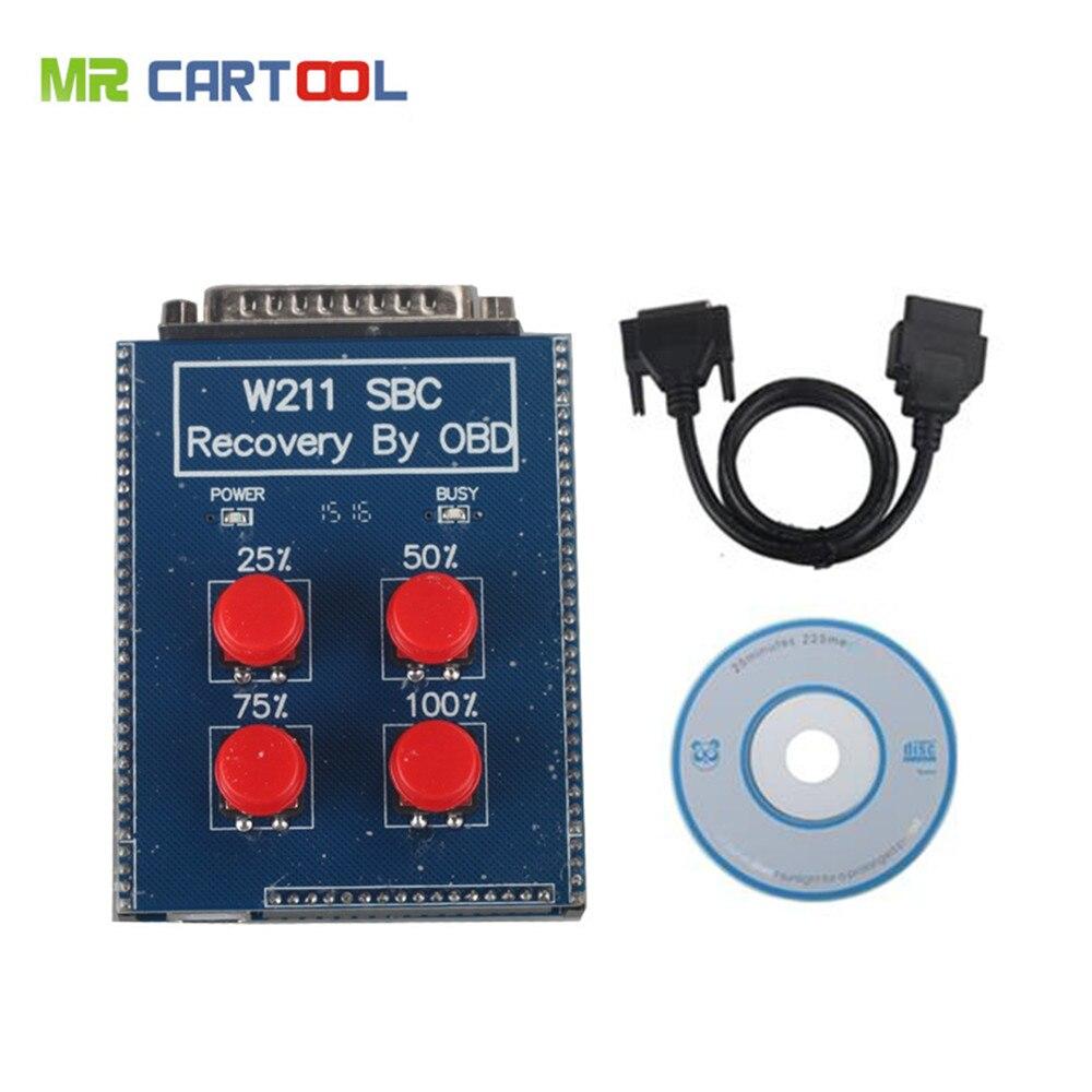 Best Quality W211/R230 ABS/SBC Tool repair code c249f For Mercedes Benz Obd SBC Reset Tool sbc repair tool Fast Free Shipping