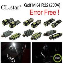 16 шт. Х canbus ошибка бесплатно для Volkswagen VW Golf MK4 R32 СВЕТОДИОДНЫЕ лампы Интерьер Свет Комплект Пакет (2004)