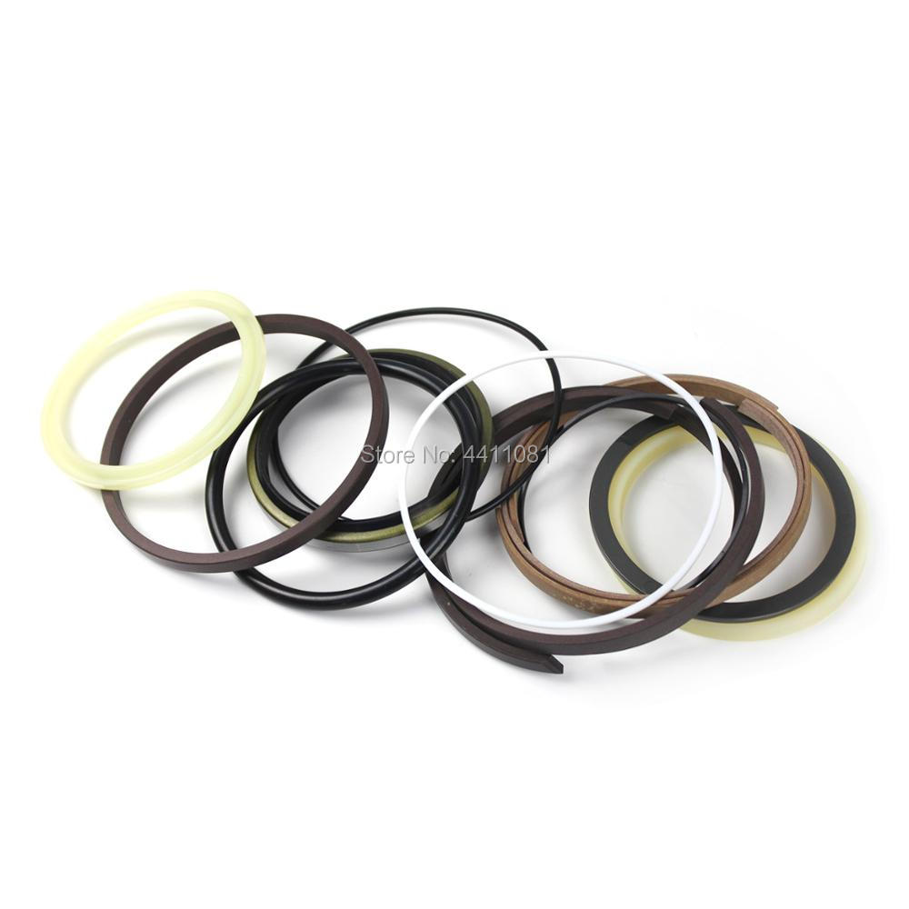 купить For Kobelco SK100 Bucket Cylinder Seal Repair Service Kit YW01V00003R300 Excavator Oil Seals, 3 month warranty по цене 2519.31 рублей