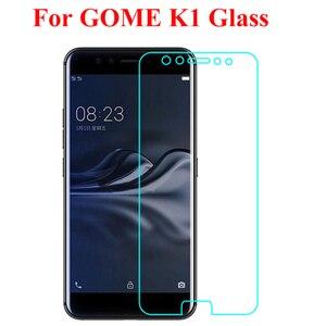 Защитное стекло Gome K1, Высокопрочное, 9H, взрывостойкое, для Gome K1, 4G