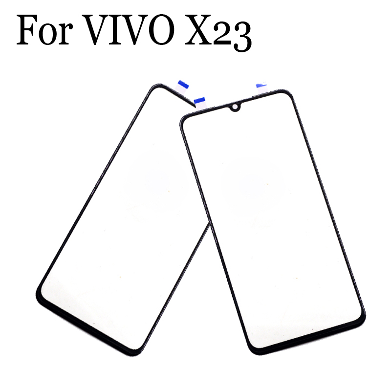 Replacement Parts For VIVO X23 X23 Touch Screen Outer LCD Front Panel Screen Glass Lens Cover For VIVO X 23 Without Flex Cable