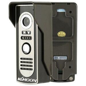 Image 4 - KKMOON 7 LCD Screen Wired Video Door Phone System Visual Intercom Doorbell Indoor Monitor 700TVL Outdoor IR Camera Night View