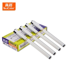 TrueColor 12pcs lot 0 3mm Black Ink Gel Pen High Quality Supplement School and Office Stationery