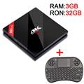 3G/32G Amlogic S912 H96 POR + Octa core Anroid 6.0 Tv Box 2.4G/5.8 GHz WiFi UHD 4 K CA 1000 M LAN Bluetooth 4.1 Smart Media jugador
