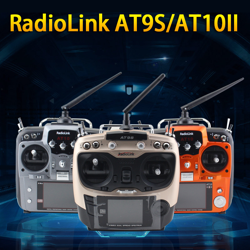 Radiolink AT9S 10CH R9DS AT10 II 12CH R12DS T8FB 8CH R8EF 2 4GHz Remote Control Receiver