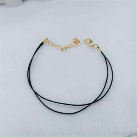 Sl 0318 Новая корейская модная тенденция ювелирные изделия дикая двойная Черная веревка подружки браслет индивидуальность мужчины и женщины пара браслетов