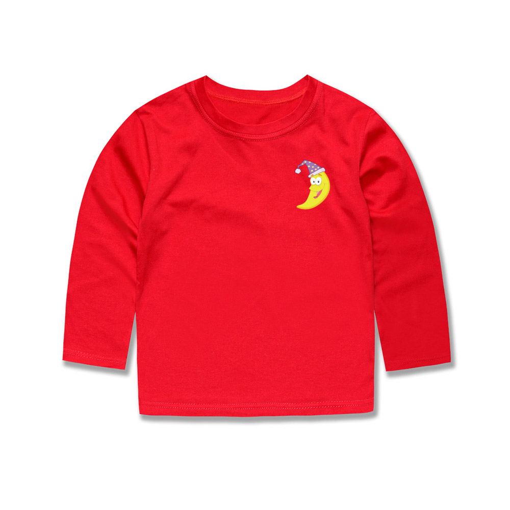 Little Bitty 2018 Spring Autumn Seasons Full Sleeve Boys Girls Children Kids Baby Toddler T shirts for 2-14Years 12 colors