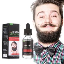 1 Bottle Men Beard Growth Enhancer Facial Nutrition Moustache Grow Beard Shaping Tool Professional Beard Hair care products