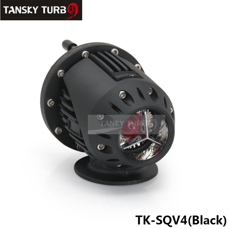 Universal Black SQV SSQV Bov Turbo Blow Off Valve Bov with Adapter Flange IV 4 default colour is black TK-SQV4-BK