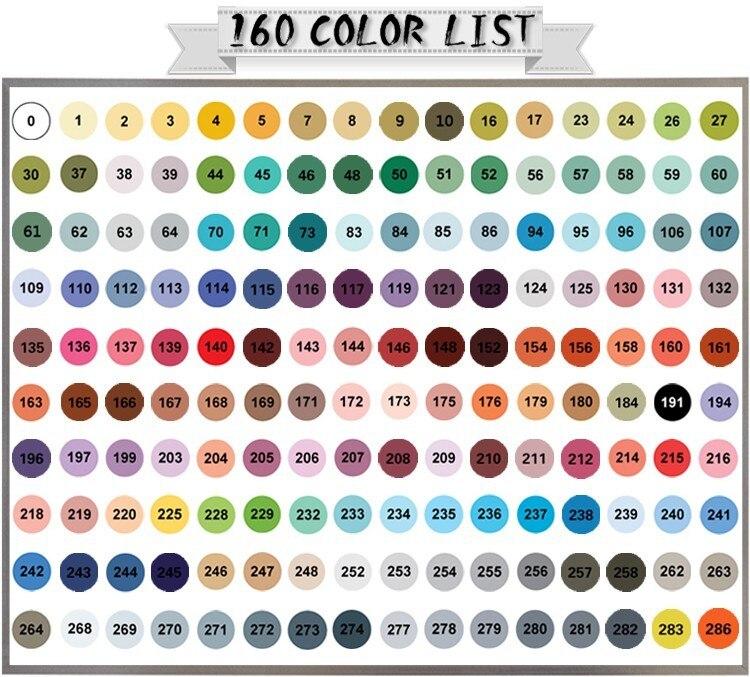 Image 5 - FINECOLOUR 160 Colors Double Headed Paint Sketch Marker Pen Architecture Alcohol Based Art Markers Set Manga Drawingart marker setmanga drawingart markers -