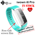 Original iwown I6 PRO IWOWNFIT I6 PRO Smart Wristband Heart Rate Monitor IP67 Smart Bracelet Fitness Tracker for Andriod 4.4